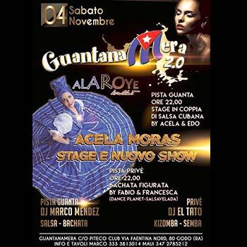GUANTANAMERA SABATO 04 NOVEMBRE