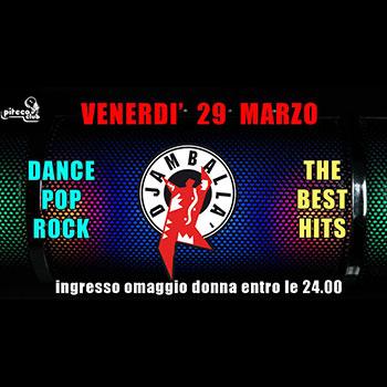 Djamballà Party - Pop Rock Dance - Omaggio Donna entro le 24